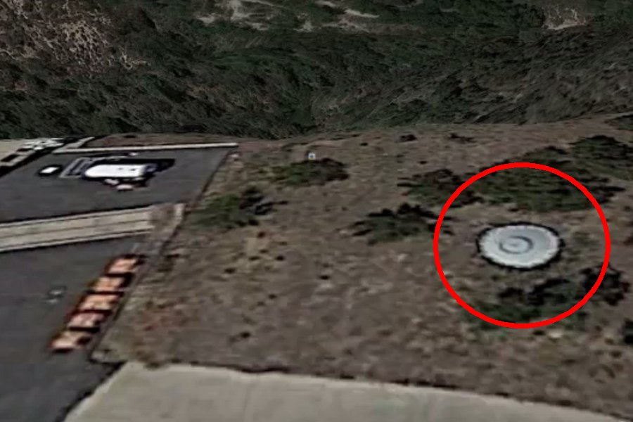 съемка с места падения нло - 8