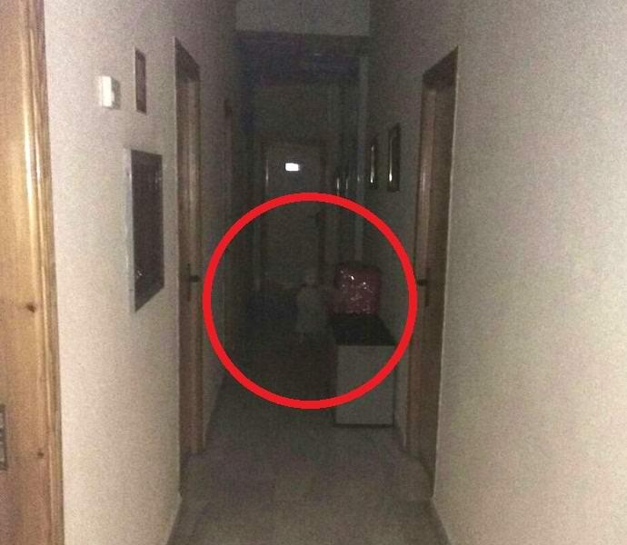 Фото привидения в городской ратуше