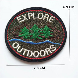Нашивка Explore outdoors