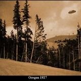 НЛО, 1927 год – штат Орегон.