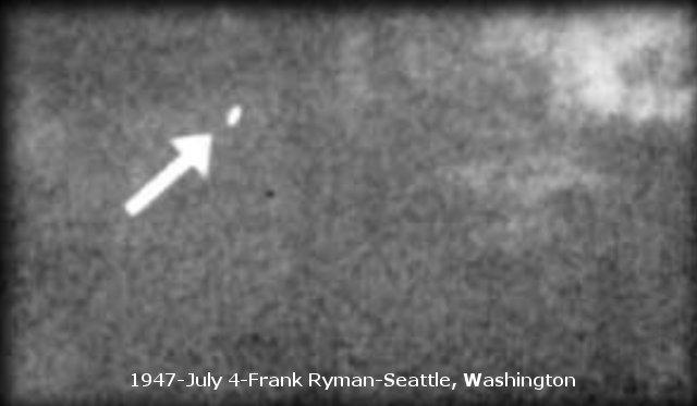 НЛО, 4 июля, 1947 год – Фрэнк Риман