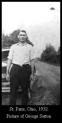 НЛО, Май, 1932 год – St. Paris, штат Огайо.