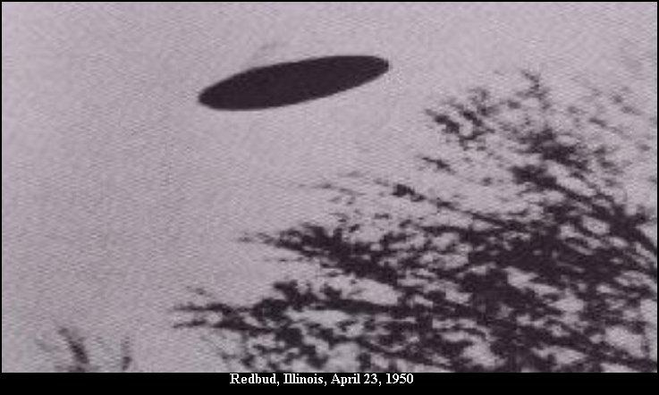 НЛО, 23 апреля, 1950 год – Ред Бад, штат Иллинойс.