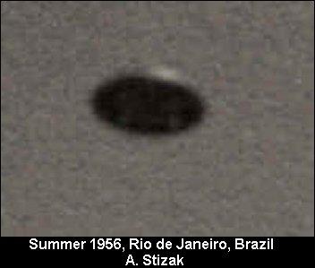 НЛО, Лето, 1956 год – Рио-де-Жанейро, Бразилия.