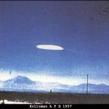 НЛО, 16 октября, 1957 год – база ВВС «Холломэн», Нью-Мексико.