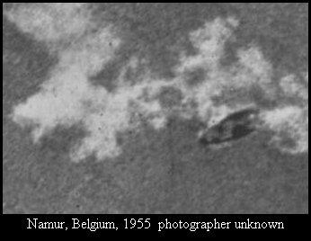 НЛО, 1955 год – Намюр, Бельгия (2).