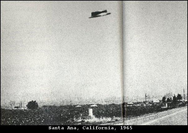 НЛО, 3 августа, 1965 год – Санта Ана, Калифорния.