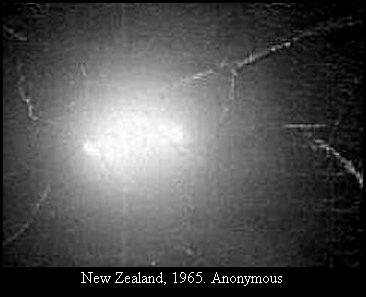 НЛО, 1965 год – Новая Зеландия.