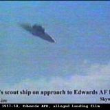 НЛО, 1957-1958 года – авиабаза ВВС США «Эдвардс».