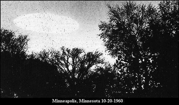 НЛО, 1960 год - Миннеаполис, штат Миннесота.