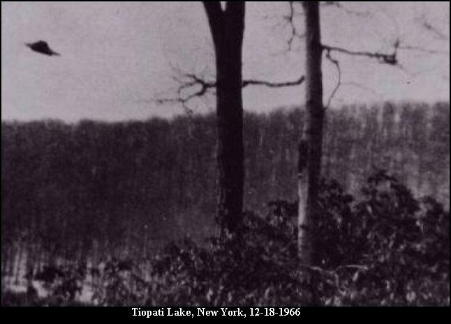 НЛО, 18 декабря, 1966 год – Озеро Тиорати/Медвежья Гора, штат Нью-Йорк.