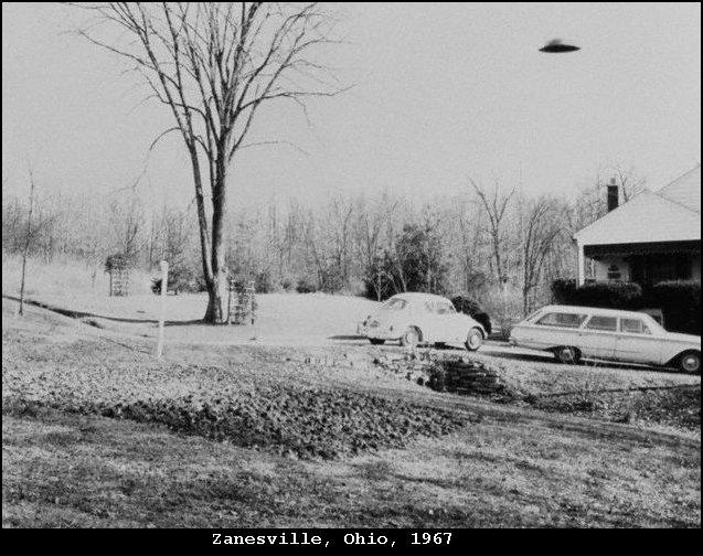 НЛО, Февраль, 1967 год - Занесвилле, штат Огайо.
