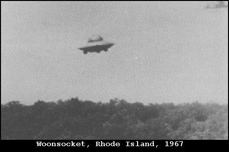НЛО, 1967 год – Вунсокет, Род-Айленд.