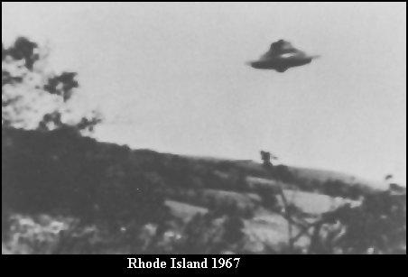 НЛО, 1967 год – Восточной Вунсокен, Род-Айленд.