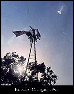 НЛО, 1966 год – Хилсдейл, штат Мичиган.