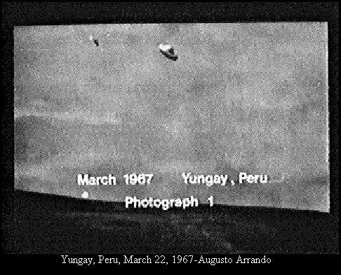 НЛО, 22 марта, 1967 год – Юнгай, Перу.
