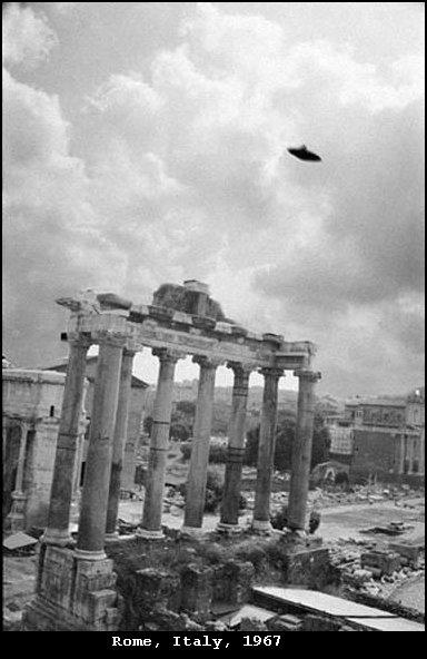 НЛО, 18 июля, 1967 год – Рим, Италия.