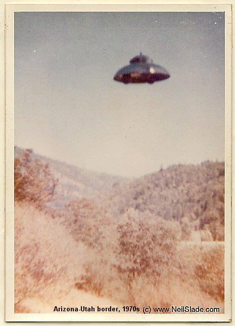 НЛО, 1970 год – штат Аризона /граница с Ютой.