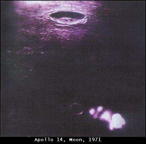 НЛО, 1971 год – Луна.