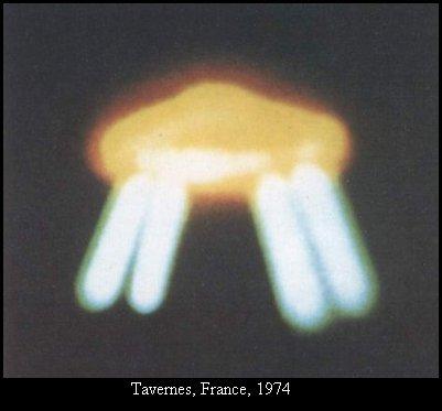 НЛО, 1974 год – Таверне, Франция.