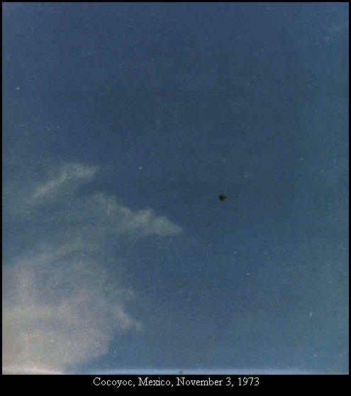 НЛО, 3 ноября, 1973 год – Кокойок, Мексика.