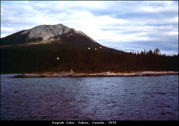 НЛО, 1970 год – озеро Тагиш, Юкон, Канада.