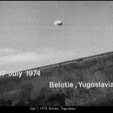 НЛО, 7 июля, 1974 год – Белотти, Югославия.