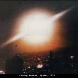 НЛО, 1976 год – Канарские острова, Испания.