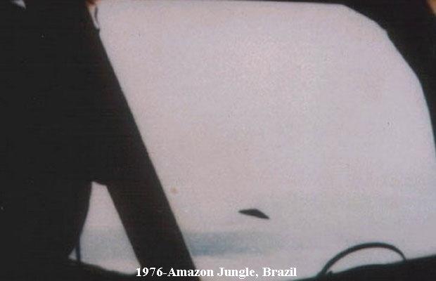 НЛО, 1976 год – Пилот пассажирского самолета