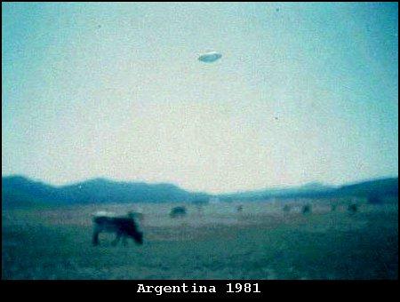 НЛО, 1981 год – Аргентина.