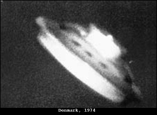 НЛО, 1974 год – Дания, Скандинавия.