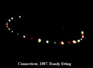 НЛО, 1987 год – штат Коннектикут.