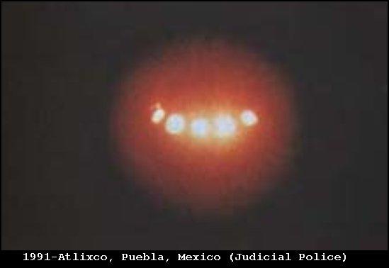 НЛО, 1991 год - Атликсо, Пуэбла, Мексика.