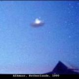 НЛО, 1990 год - Алкмар, Нидерланды.