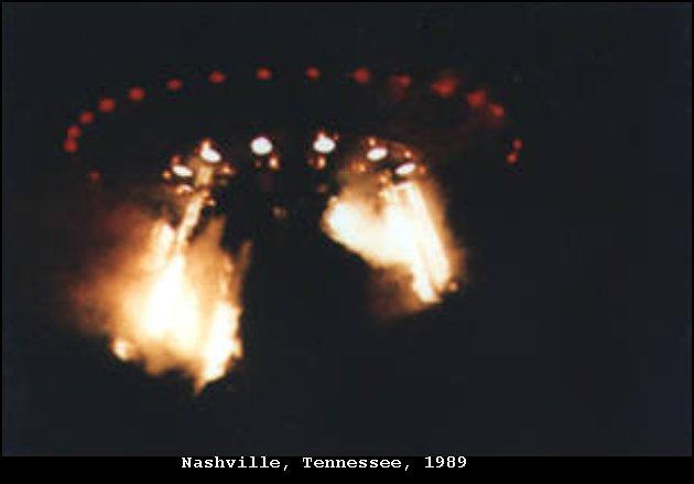 НЛО, 27 сентября, 1989 год – Нэшвилл, штат Теннесси.