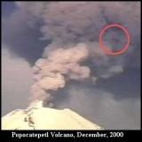 НЛО, 2000 год - вулкан Попокатепетль.