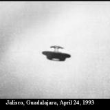 НЛО, 1993 год - Халиско, Гвадалахара, 24 апреля.