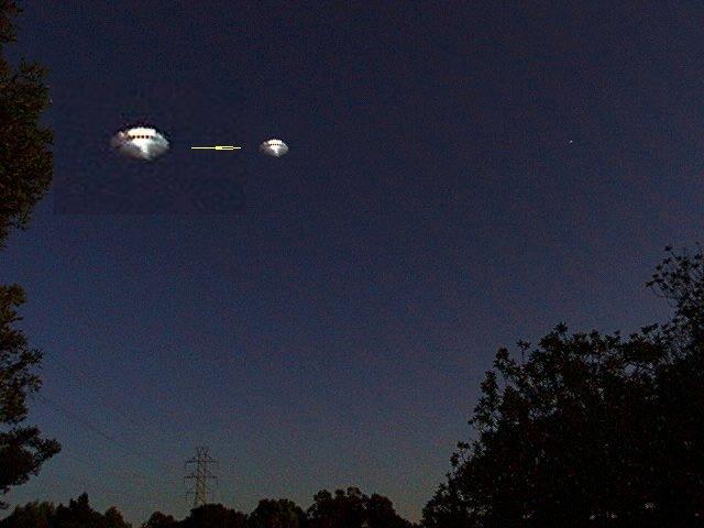 НЛО, 2001 год - Фостер Сити, штат Калифорния, 18 мая.