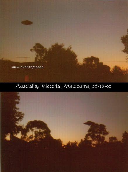НЛО, 2001 год - Мельбурн, Австралия.