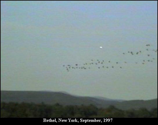 НЛО, 1996 год - Калифорния.