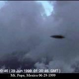 НЛО, 1999 год - горы Попо, Мексика.