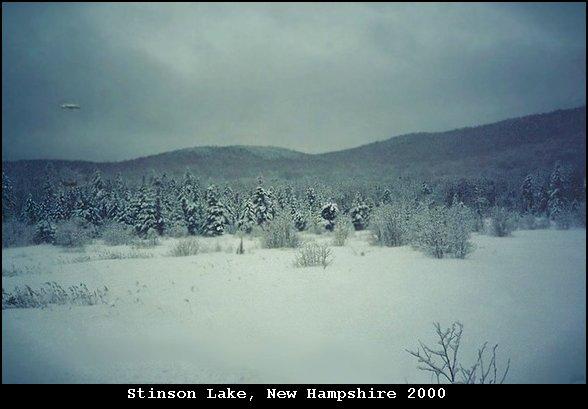 НЛО, 2000 год - озеро Стинсон, Нью-Гэипшир.
