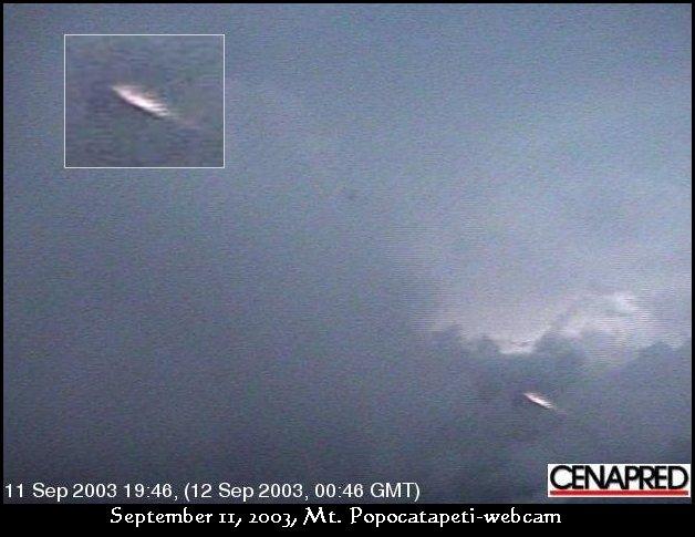НЛО, 2003 год - Мексика - 11 сентября.