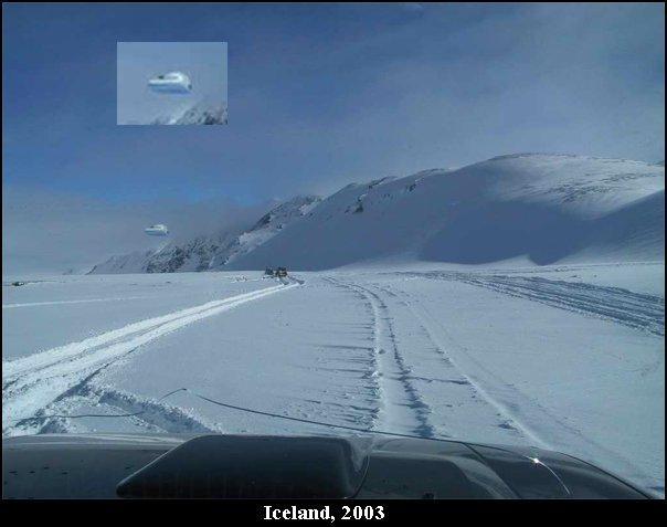 НЛО, 2003 год - Исландия.