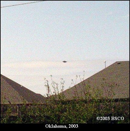 НЛО, 2003 год - Оклахома.