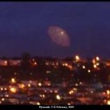 НЛО, 2003 год - Плимут, Великобритания - февраль.