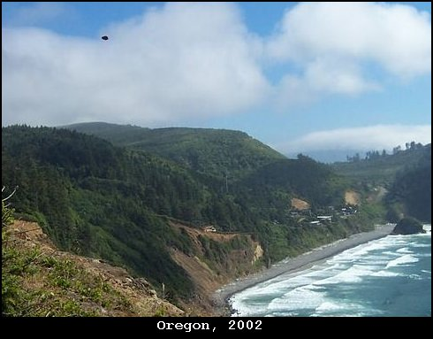 НЛО, 2002 год - Орегон