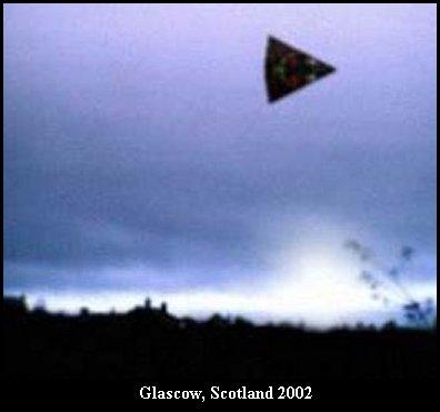 НЛО, 2002 год - Глазго, Шотландия.
