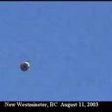 НЛО, 2003 год - Нью-Вестминстер, Британская Колумбия