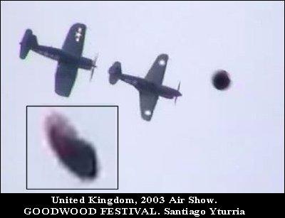 НЛО, 2003 год - Великобритания.